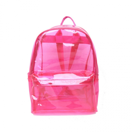 Plastic Waterproof Clear PVC Backpack